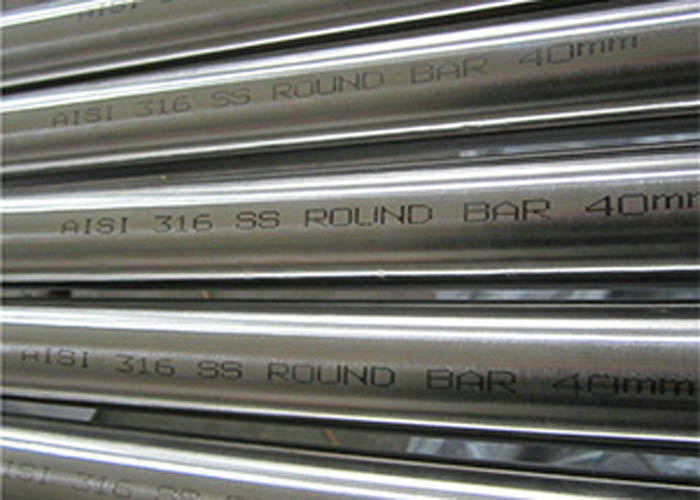 ASTM A276 AISI 316 เหล็กเส้นกลมสแตนเลส