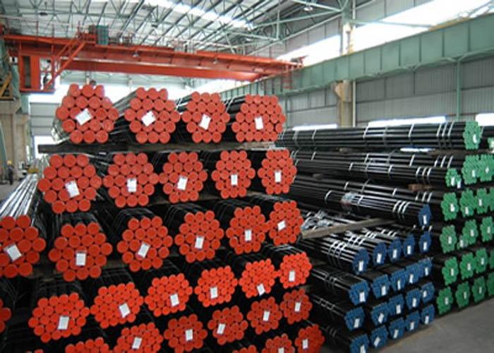 API 5L, API 5CT, ASTM A106 / A53, DIN 2391, EN10305, EN10210 Carbon Alloy ท่อเหล็กไร้รอยต่อ