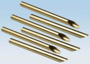 C44300 C68700 ท่อโลหะผสมทองแดงทองเหลือง ASTM B111